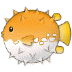 🐡 blowfish Emoji on Samsung Platform