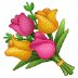 💐 Karangan Bunga Emoji pada Platform Samsung