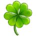 🍀 four leaf clover Emoji on Samsung Platform