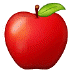 🍎 red apple Emoji on Samsung Platform