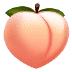 🍑 桃子 三星平台的表情符号