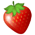 🍓 strawberry Emoji on Samsung Platform