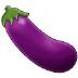 🍆 eggplant Emoji on Samsung Platform