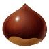 🌰 chestnut Emoji on Samsung Platform