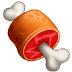 🍖 meat on bone Emoji on Samsung Platform