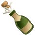 🍾 bottle with popping cork Emoji on Samsung Platform