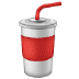 🥤 cup with straw Emoji on Samsung Platform