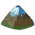 🏔️ snow-capped mountain Emoji on Samsung Platform