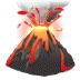 🌋 volcano Emoji on Samsung Platform
