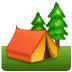 🏕️ Camping Emoji auf Samsung-Plattform