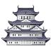 🏯 Japanese castle Emoji on Samsung Platform
