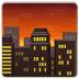 🌆 Stad In Schemer Emoji op Samsung Platform