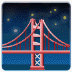 🌉 bridge at night Emoji on Samsung Platform