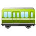 🚃 railway car Emoji on Samsung Platform