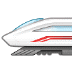 🚄 high-speed train Emoji on Samsung Platform