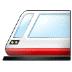 🚈 Light Rail Emoji on Samsung Platform