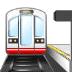 🚉 station Emoji on Samsung Platform