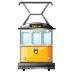 🚊 tram Emoji on Samsung Platform