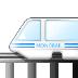 🚝 monorail Emoji on Samsung Platform