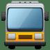 🚍 Oncoming Bus Emoji on Samsung Platform