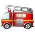 🚒 fire engine Emoji on Samsung Platform