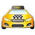 🚖 oncoming taxi Emoji on Samsung Platform