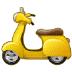🛵 motor scooter Emoji on Samsung Platform