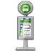 🚏 bus stop Emoji on Samsung Platform