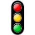 🚦 vertical traffic light Emoji on Samsung Platform