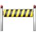 🚧 construction Emoji on Samsung Platform