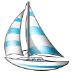 ⛵ sailboat Emoji on Samsung Platform