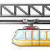 🚟 suspension railway Emoji on Samsung Platform