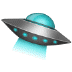 🛸 flying saucer Emoji on Samsung Platform