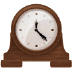 🕰️ mantelpiece clock Emoji on Samsung Platform