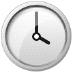 🕓 four o'clock Emoji on Samsung Platform