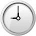🕘 nine o'clock Emoji on Samsung Platform