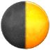 🌓 first quarter moon Emoji on Samsung Platform