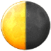 🌗 Last Quarter Moon Emoji on Samsung Platform
