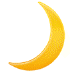 🌙 crescent moon Emoji on Samsung Platform