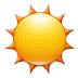 ☀️ sun Emoji on Samsung Platform