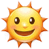 🌞 sun with face Emoji on Samsung Platform