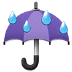 ☔ umbrella with rain drops Emoji on Samsung Platform