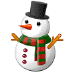⛄ snowman without snow Emoji on Samsung Platform