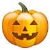🎃 Citrouille d'Halloween Emoji sur la plateforme Samsung