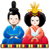🎎 Japanese dolls Emoji on Samsung Platform
