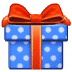 🎁 wrapped gift Emoji on Samsung Platform