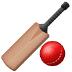 🏏 cricket game Emoji on Samsung Platform