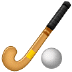 🏑 field hockey Emoji on Samsung Platform