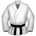 🥋 martial arts uniform Emoji on Samsung Platform