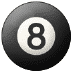 🎱 pool 8 ball Emoji on Samsung Platform